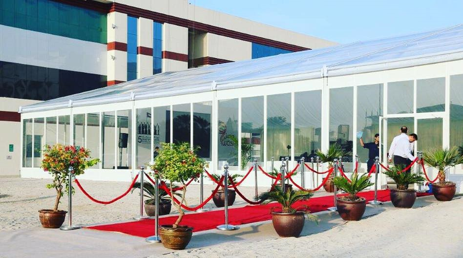 Clear Rental Tent