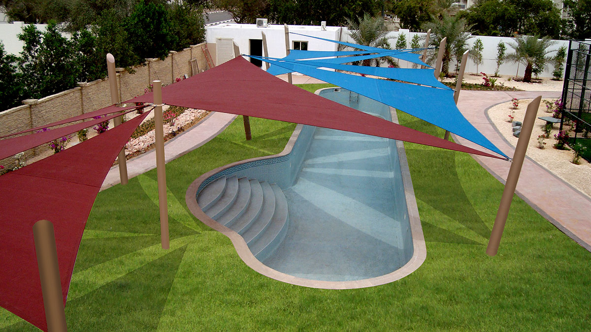 Swimming Pool Shades