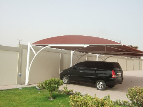 HDPE Car Parking Shades