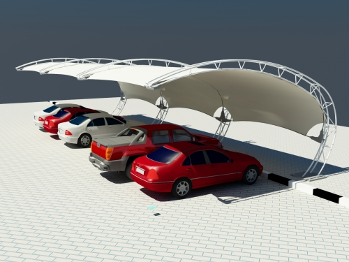 Car Parking Shades - Al Ameera Tents & Shades