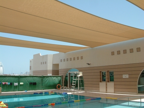 HDPE Swimming Pool Shade