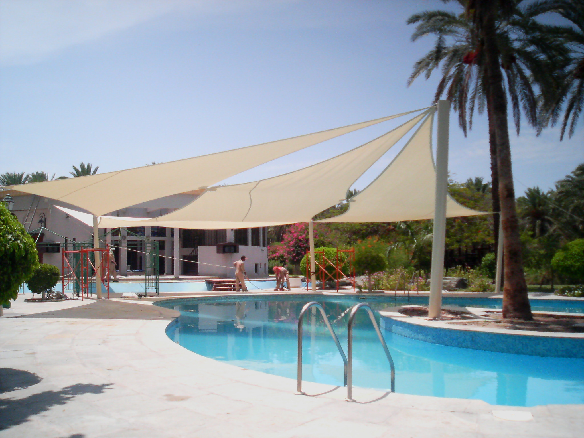 Swimming Pool Shade Structures UAE
