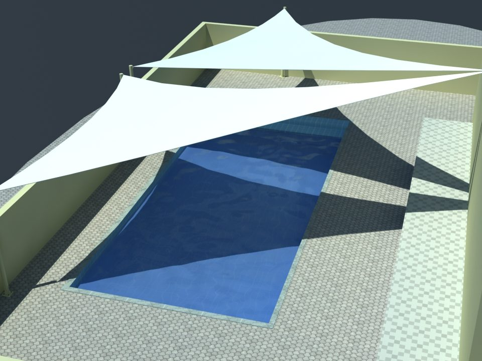 swimming pool shade structures supplier