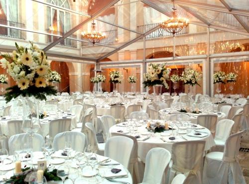 Transparent Wedding Tent - Al Ameera Tents & Shades