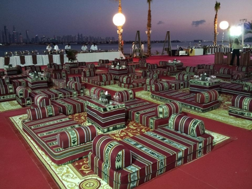 Arabic Tent Seatings