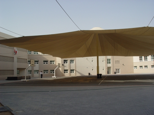 Fabric Shades for Yards