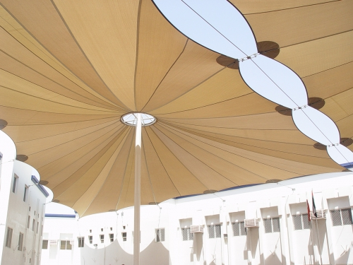 HDPE School Shades