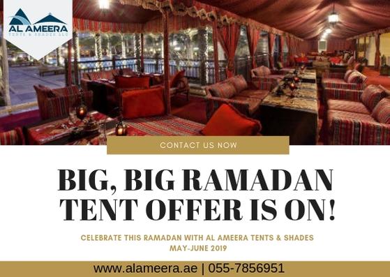 Ramadan Rental Tent Offer