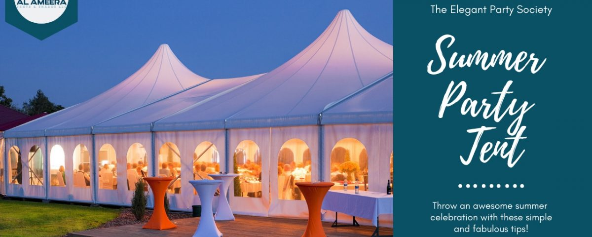 The Summer Party Tent