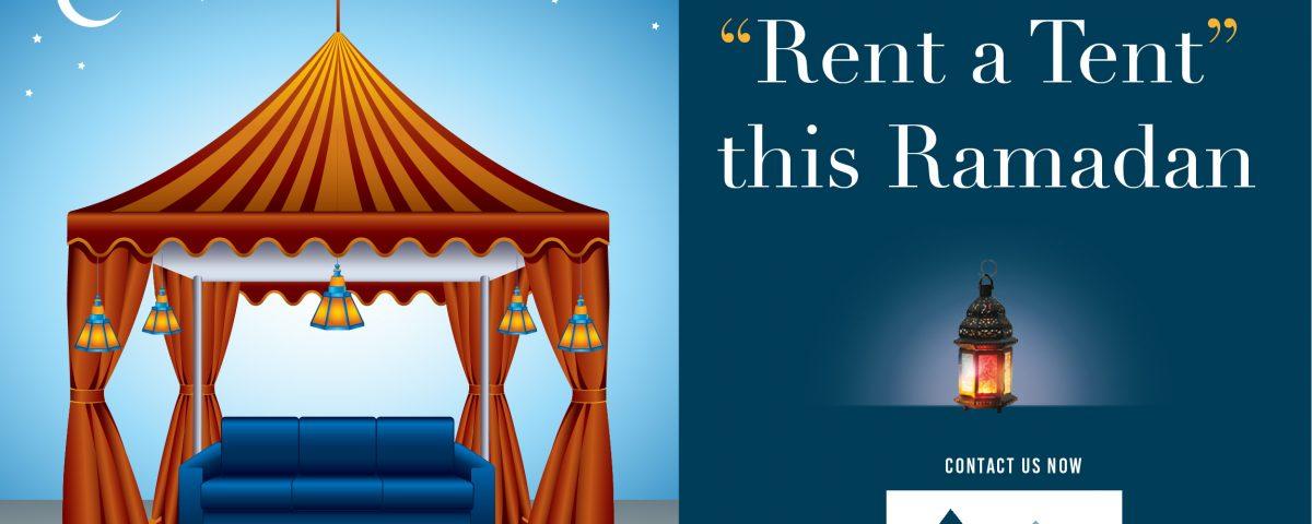 Rental tents in Dubai