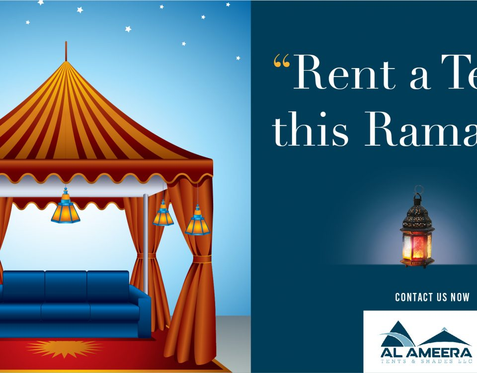 Rental tents in Dubai