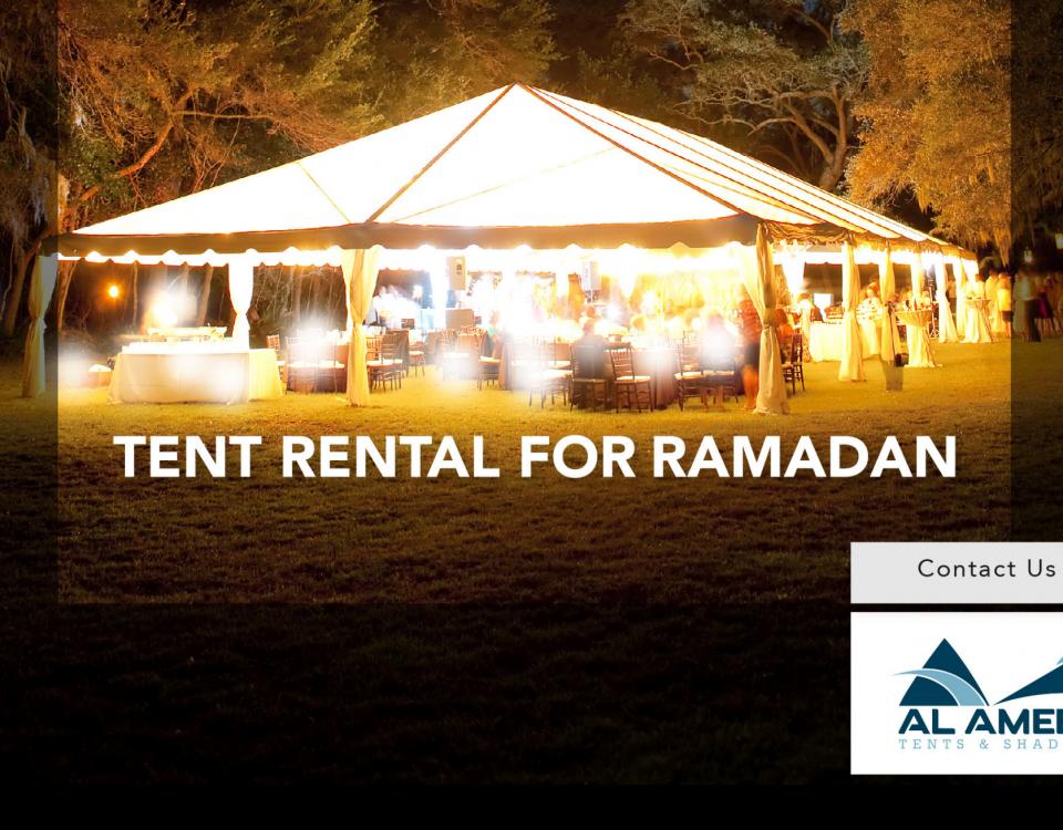 Tent Rental for Ramadan