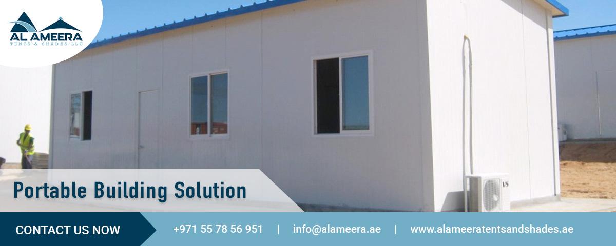 portable building solution UAE