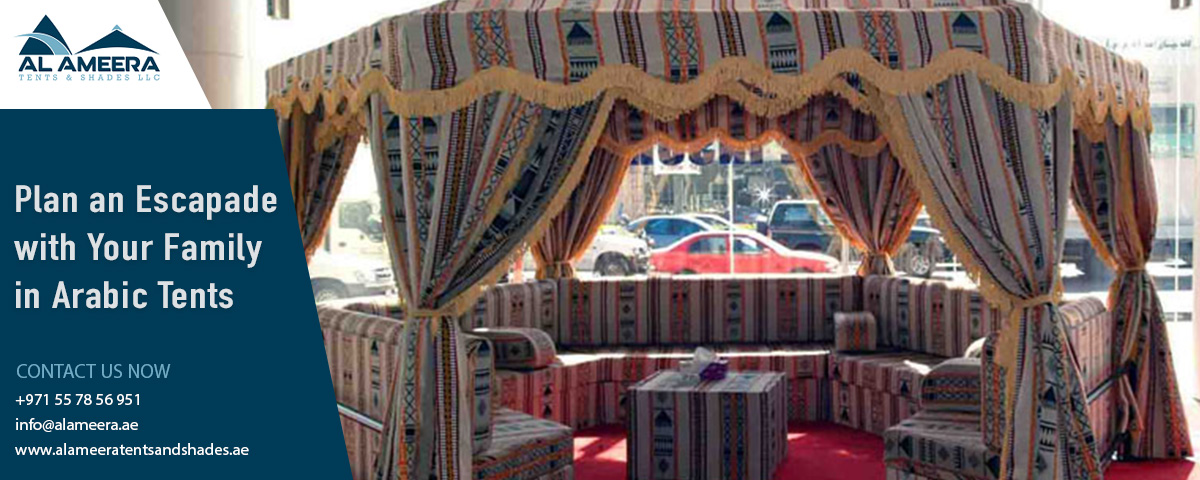 Plan an Escapade with Your Family in Arabic Tents