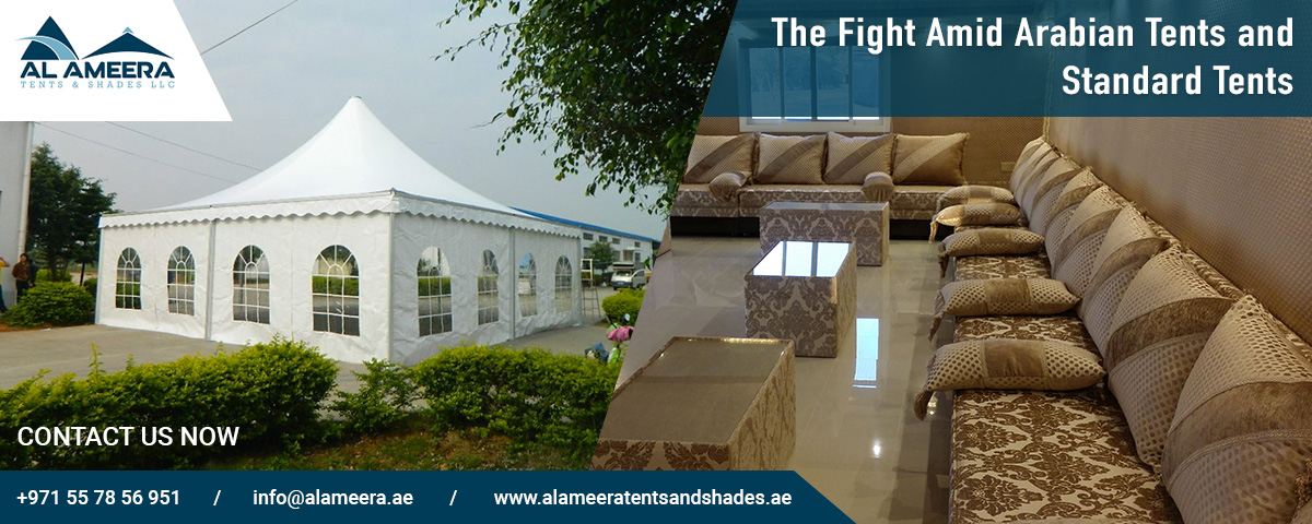 arabic tent and standard tent