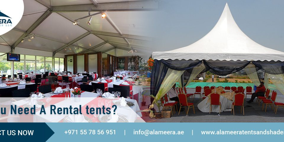 Do You Need A Rental tents