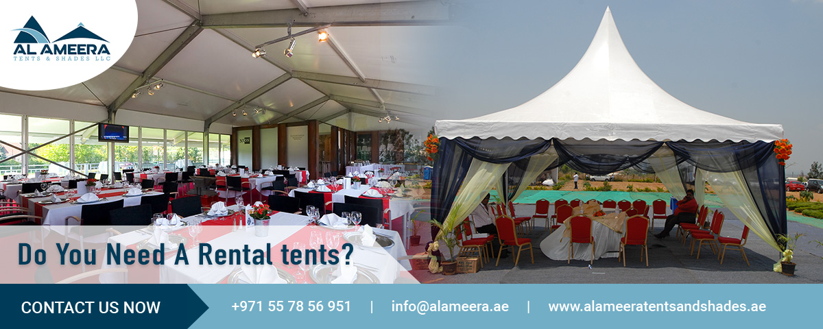 Do You Need A Rental Tents?