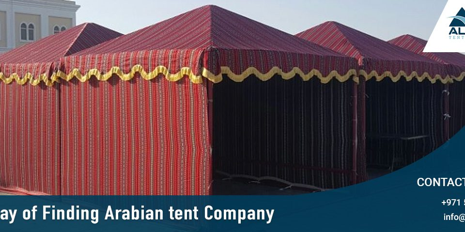 Best way of Finding Arabian tent Company