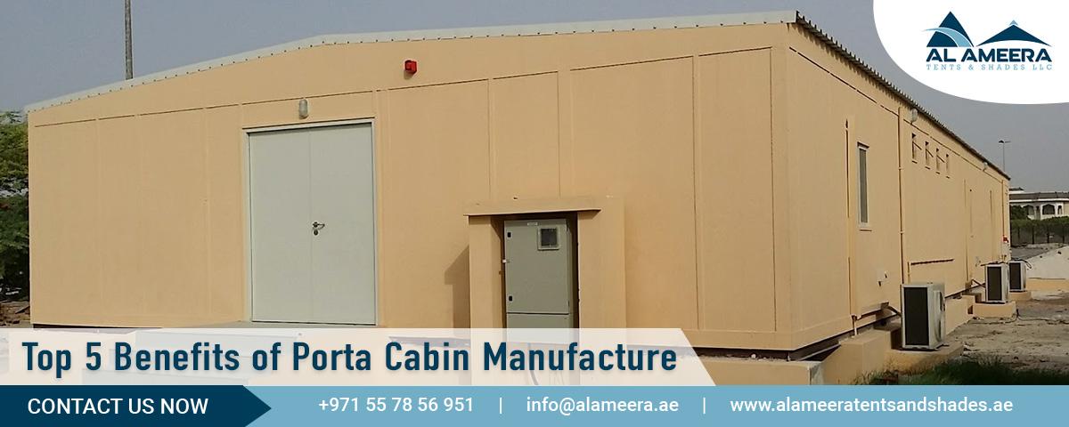 Top 5 Benefits of Porta Cabin Manufacture