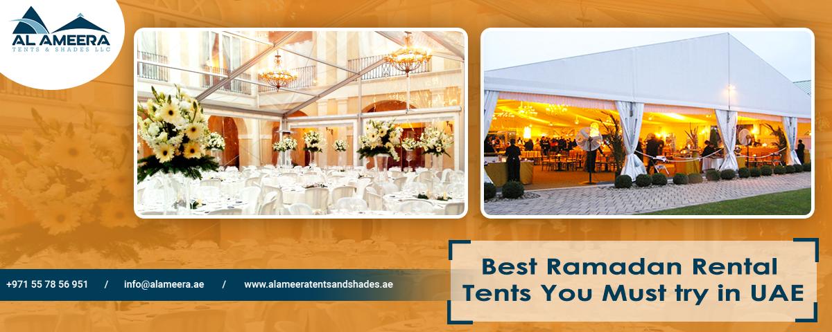Best Ramadan Rental Tents You Must Try In UAE